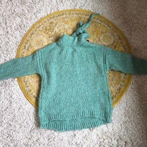 Blue- greenish Zara sweater